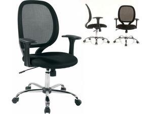 Πολυθρόνα γραφείου BF2080 Mesh Μαύρο [Ε-00010030] ΕΟ525 (Μαύρο)