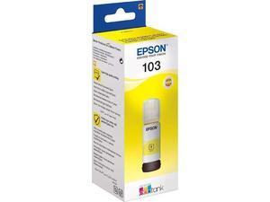 Μελάνι εκτυπωτή Epson 103 Yellow (C13T00S44A) 65ml