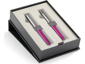 Σετ κασετίνα δώρου Στυλό PARKER JOTTER CR ST.STEEL ORIG. CT MAGENTA (RB-BP)