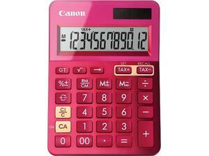Αριθμομηχανή Canon LS123K ροζ χρώμα EMEA DBL