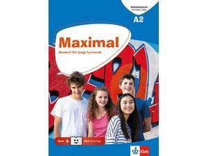 Maximal A2, Arbeitsbuch mit Audios online + Klett Book-App