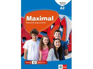 Maximal A2, Kursbuch mit Audios und Videos online + Klett Book-App-Code