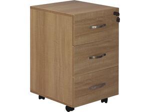 Συρταριέρα γραφείου  3 Συρτάρια 38x42x63cm Sonoma [Ε-00022071] ΕΟ438,3
