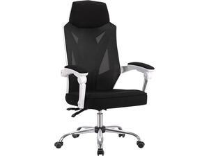 Πολυθρόνα γραφείου διευθυντή BF9450 Relax Mesh Μαύρη (PP άσπρο)