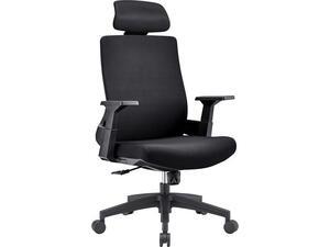 Πολυθρόνα Γραφείου Διευθυντή   BF 8900 Mesh - Ύφασμα Μαύρο