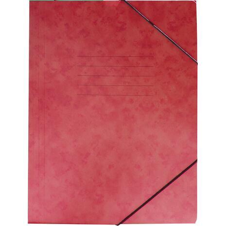Φάκελος GROOVY  με Λάστιχο Πρεσπάν 26X35cm A4, Kόκκινο