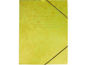Φάκελος GROOVY  με Λάστιχο Πρεσπάν 26X35cm A4, Κίτρινο