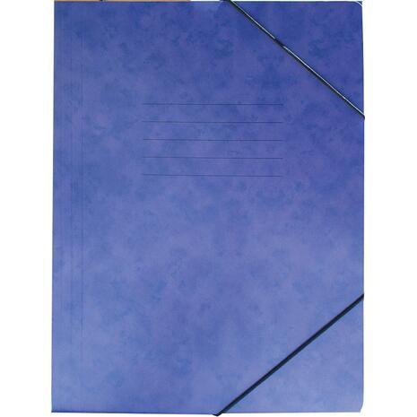 Φάκελος GROOVY  με Λάστιχο Πρεσπάν 26X35cm A4, Μπλε