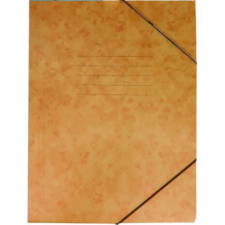 Φάκελος GROOVY  με Λάστιχο Πρεσπάν 26X35cm A4, Πορτοκαλί