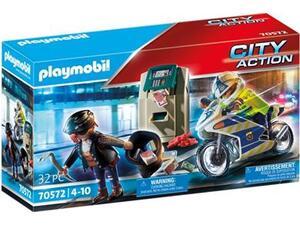 Playmobil Διάρρηξη Στο ΑΤΜ (70572)