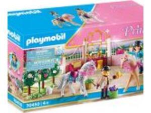 Playmobil Princess Μαθήματα ιππασίας στον βασιλικό στάβλο 70450