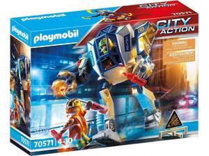 Playmobil Αστυνομικό Ρομπότ Και Ληστής 70571