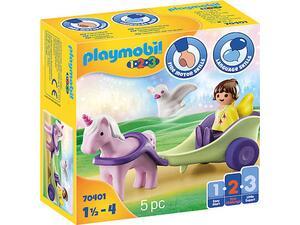 Playmobil 1- 2-3 Νεραϊδοάμαξα με μονόκερο 70401