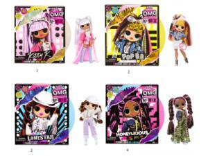 Κούκλα L.O.L. Surprise! Remix O.M.G. - 4 Σχέδια LLUG1000
