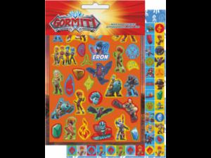 Αυτοκόλλητα GIM Max Stickers Gormiti 600