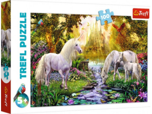 Πάζλ Trefl Secret Garden 100 τμχ 41X27,5cm