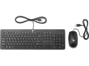 Σετ ενσύρματο πληκτρολόγιο και ποντίκι Η/Υ SLIM USB HP T6T83AA B13