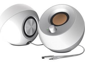 Ηχεία Creative Pebble 2.0 Speakers USB (White)