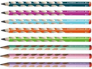 Μολύβι γραφίτη Stabilo EASYgraph 322 HB δεξιόχειρα σε διάφορα χρώματα