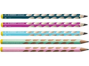 Μολύβι γραφίτη Stabilo EASYgraph 321 αριστερόχειρα σε διάφορα χρώματα