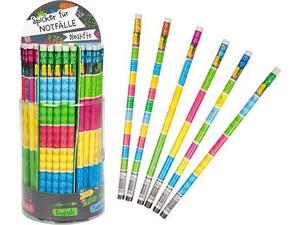 Μολύβι γραφίτη Trend Cool & Clever με γόμα σε διάφορα χρώματα (945273)