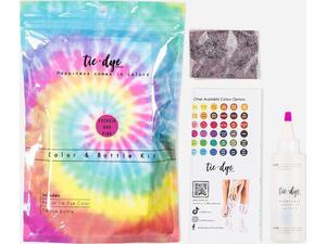 Χρώμα για ύφασμα Τie-Dye 4,6γρ & μπουκάλι 120ml