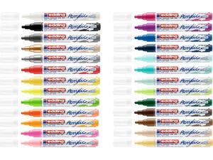Μαρκαδόρος ακρυλικός Edding 5100 2-3mm σε διάφορα χρώματα