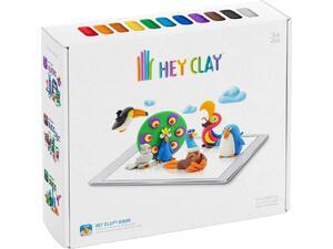 Hey Clay Claymates Πουλιά Πολύχρωμο