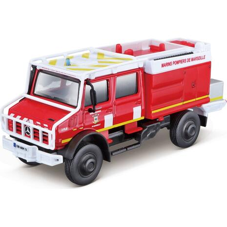 Πυροσβεστικό όχημα Bburago Mercedes-Benz Unimog (18-32017)