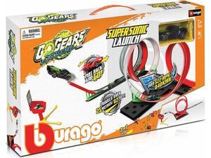 Πίστα Burago Go Gears Extreme Supersonic Launch 1 Car (30533)
