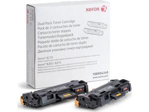 Toner εκτυπωτή Xerox dual pack black 106R04349 (συσκευασία 2 τεμαχίων) (Black)