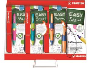 Σετ Μηχανικό μολύβι Stabilo Easy Start 3.15mm με ξύστρα για αριστερόχειρες
