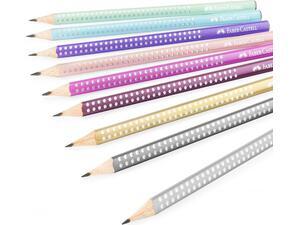 Μολύβι γραφίτη Faber Grip Sparkle B σε διάφορα χρώματα