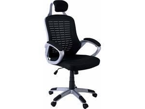 Πολυθρόνα γραφείου διευθυντή BF9200 Mesh Μαύρο [Ε-00015036] ΕΟ281,1 (Μαύρο)