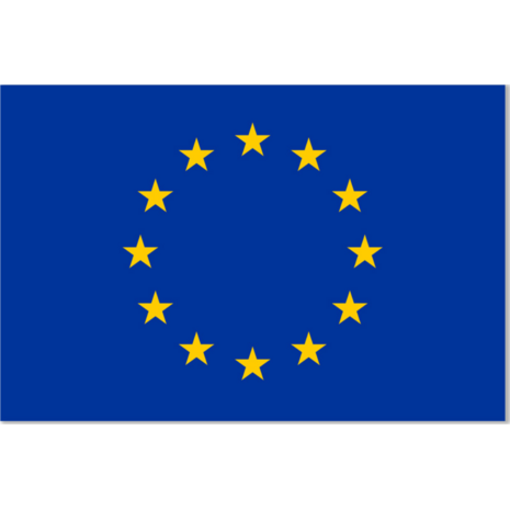 Σημαία Ευρωπαικής Ένωσης 1.10x1.65m πολυεστερική