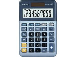 Αριθμομηχανή CASIO MS-100EM (10 ψηφίων)