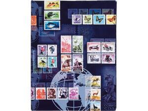 Αλμπουμ γραμματοσήμων PAGNA Α4 με 16 μαύρες σελίδες