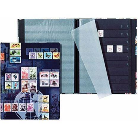 Αλμπουμ γραμματοσήμων PAGNA Α5 με 16 μαύρες σελίδες