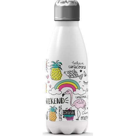 Μπουκάλι θερμός i drink id0309 therm bottle 350ml unicorn