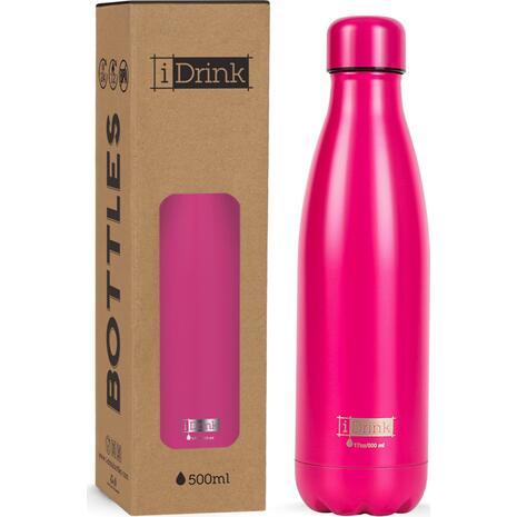 Μπουκάλι θερμός i drink id0002 therm bottle 500ml magenta