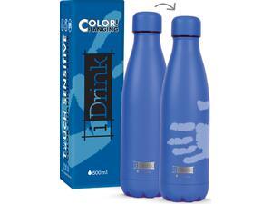 Μπουκάλι θερμός i drink id0045 change colors bottles 500ml blue/light blue