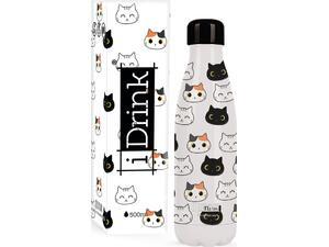 Μπουκάλι θερμός i drink id0093 therm bottle 500ml cats