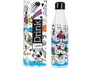 Μπουκάλι θερμός i drink id0018 therm bottle 500ml space