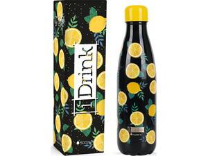 Μπουκάλι θερμός i drink id0071 therm bottle 500ml lemon
