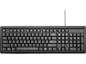 Ενσύρματο πληκτρολόγιο HP 100 Ελληνικό