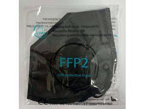 Μάσκα προστασίας Tie Χiong Civil Protective FFP2 μαύρη