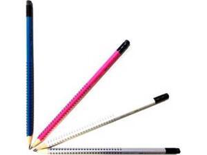 Μολύβι γραφίτη FABER CASTELL Grip 2001 με γόμα σε διάφορα χρώματα