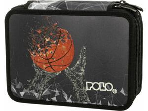 Κασετίνα διπλή POLO rolleto  rolleto μπάσκετ (9-37-274-8048 2021)
