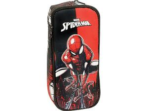 Κασετίνα οβάλ GIM spiderman comic (337-77144)
