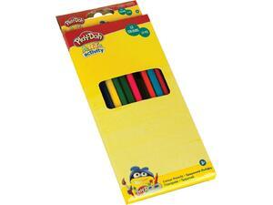 Ξυλομπογιές Play Doh Τρiγωνικές 12 Χρώματα (320-20001)